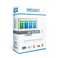 Emsisoft Enterprise Security 2 роки 4 ПК
